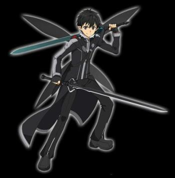 【黒の妖精】キリト★5