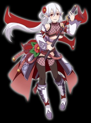 椿姫が☆5昇格かー!☆4の方がイラスト的にもヤンデレ的にも好きだったんだが…!