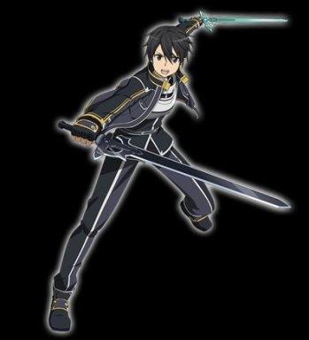 ★7【冥黒の双剣士】キリト