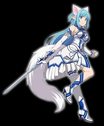 ★7【流麗なる白猫】アスナ