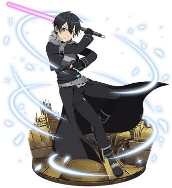 【神速の黒剣士】キリト