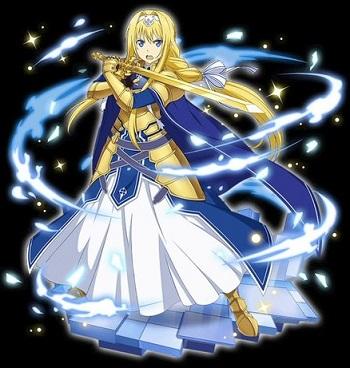 <[黄金の整合騎士]アリス>Ex解放に伴う補填!対象者は同対象キャラクターが貰える!