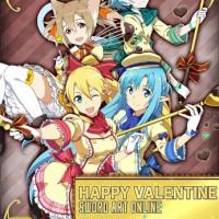 結局バレンタインはアスナ・リーファ・シリカ・シノンなわけだな…連続シノン推しどーにかしろwww