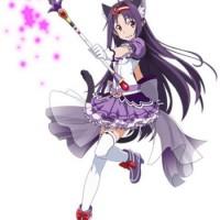 ★6魔法少女ユウキGET(*´д`*)コスト高い分ステも良いし、可愛いから満足///